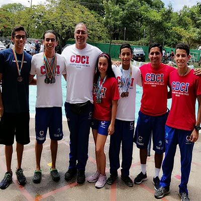 club deportivo colegio ingles ibague natacion